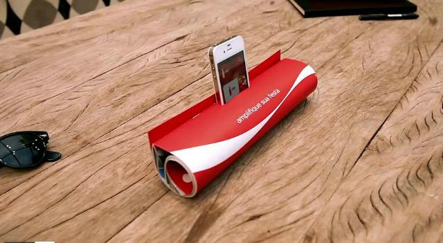 Post image for iPhone Lautsprecher aus einer Zeitschrift