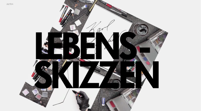 Post image for Karl Lagerfeld – Lebens-Skizzen